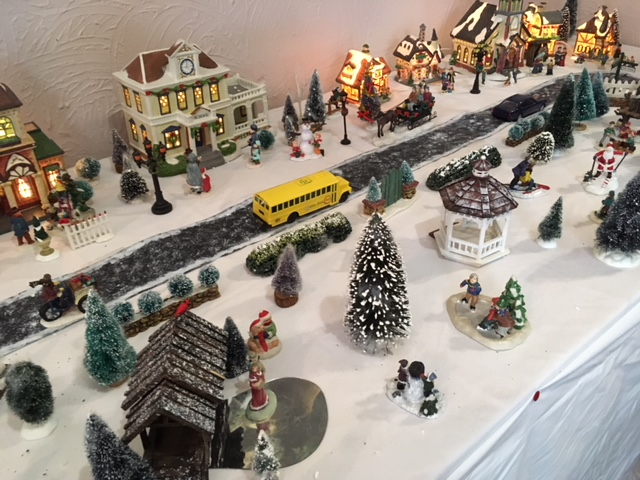 Blog Photo - BOAA Christmas village and road