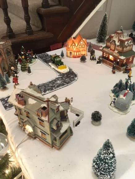 Blog Photo - BOAA Christmas village at one end