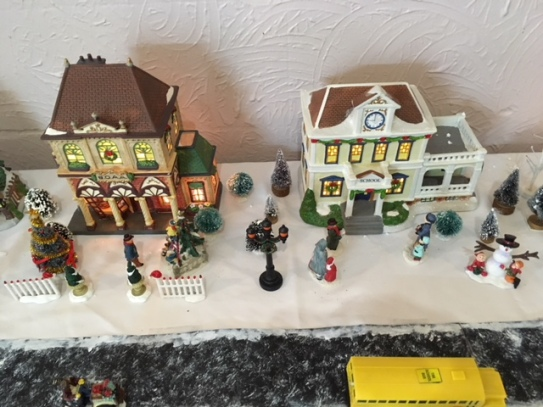 Blog Photo - BOAA Christmas village buildings and people