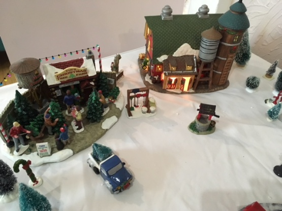 Blog Photo - BOAA Christmas village buildings and truck