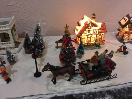 Blog Photo - BOAA Christmas village carriage and horse