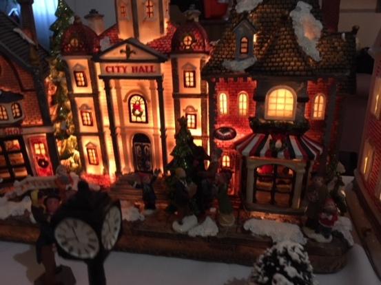 Blog Photo - BOAA Christmas Village City Hall lit up