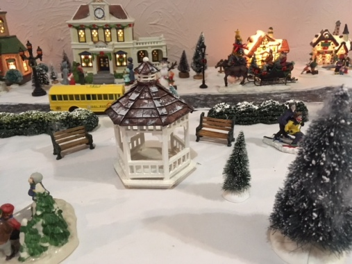 Blog Photo - BOAA Christmas village gazebo