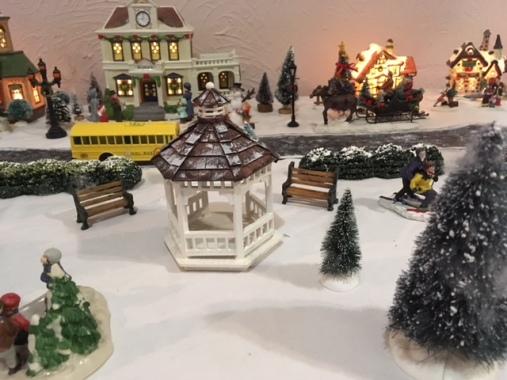Blog Photo - BOAA Christmas village gazebo