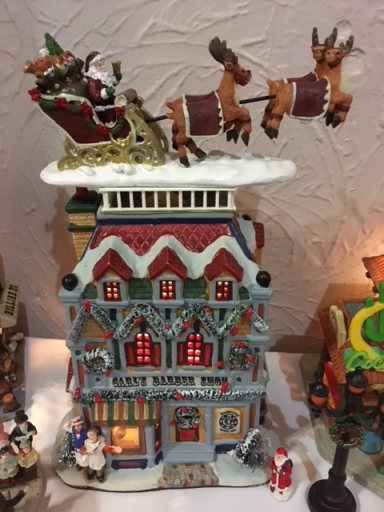 Blog Photo - BOAA Christmas village santa on roof