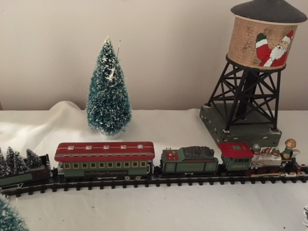 Blog Photo - BOAA Christmas village train and water tank
