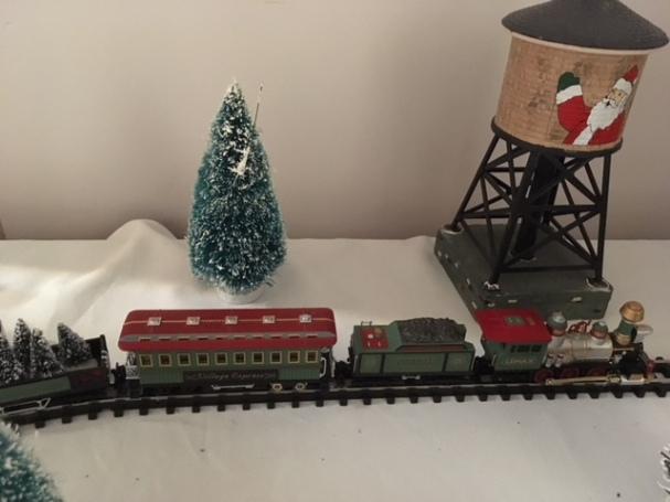 Blog Photo - BOAA Christmas village train and water tank