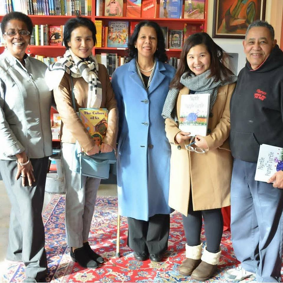 Blog Photo - Myrtle and Friends at A Different Booklist