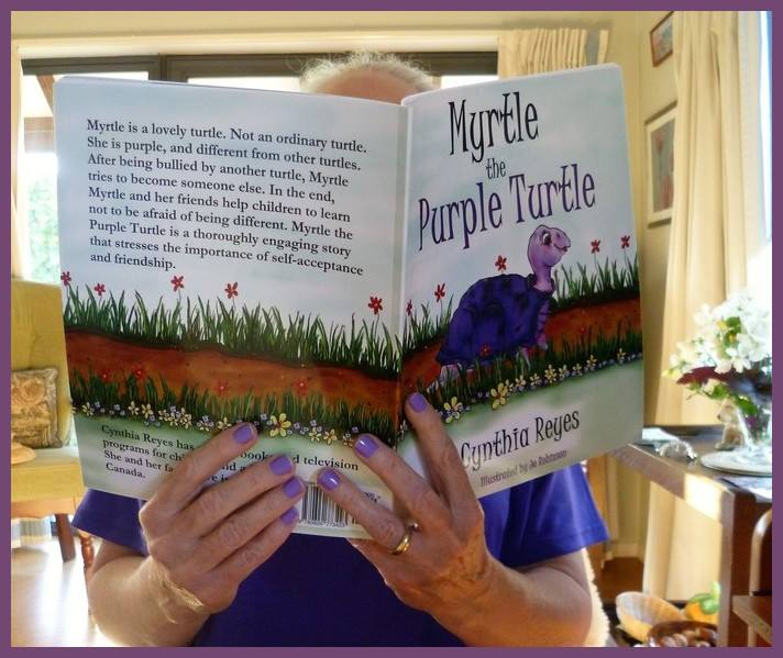 Blog Photo - Myrtle and Mandy and Purple Nails