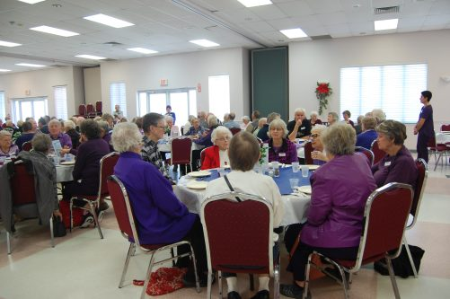 Blog Photo - BOAA Purple Lunch crowd