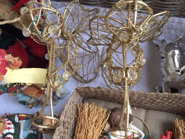 Blog Photo - Christmas Angels in creche