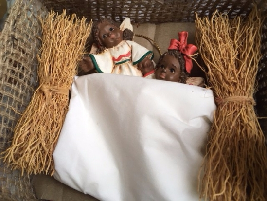 Blog Photo - Christmas babies in creche