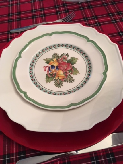 Blog Photo - Christmas plate setting