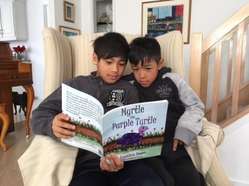 Myrtle - Boys reading