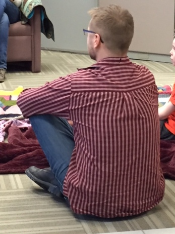 Blog Photo - Parents listens at DUCA storytime