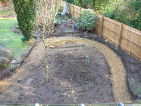 Blog Photo - Hilary Garden in progress1