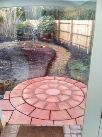 Blog Photo - Hilary Garden in progress2