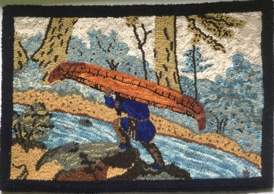Blog Photo - Jessica Charnock Hooked Rug -Portage