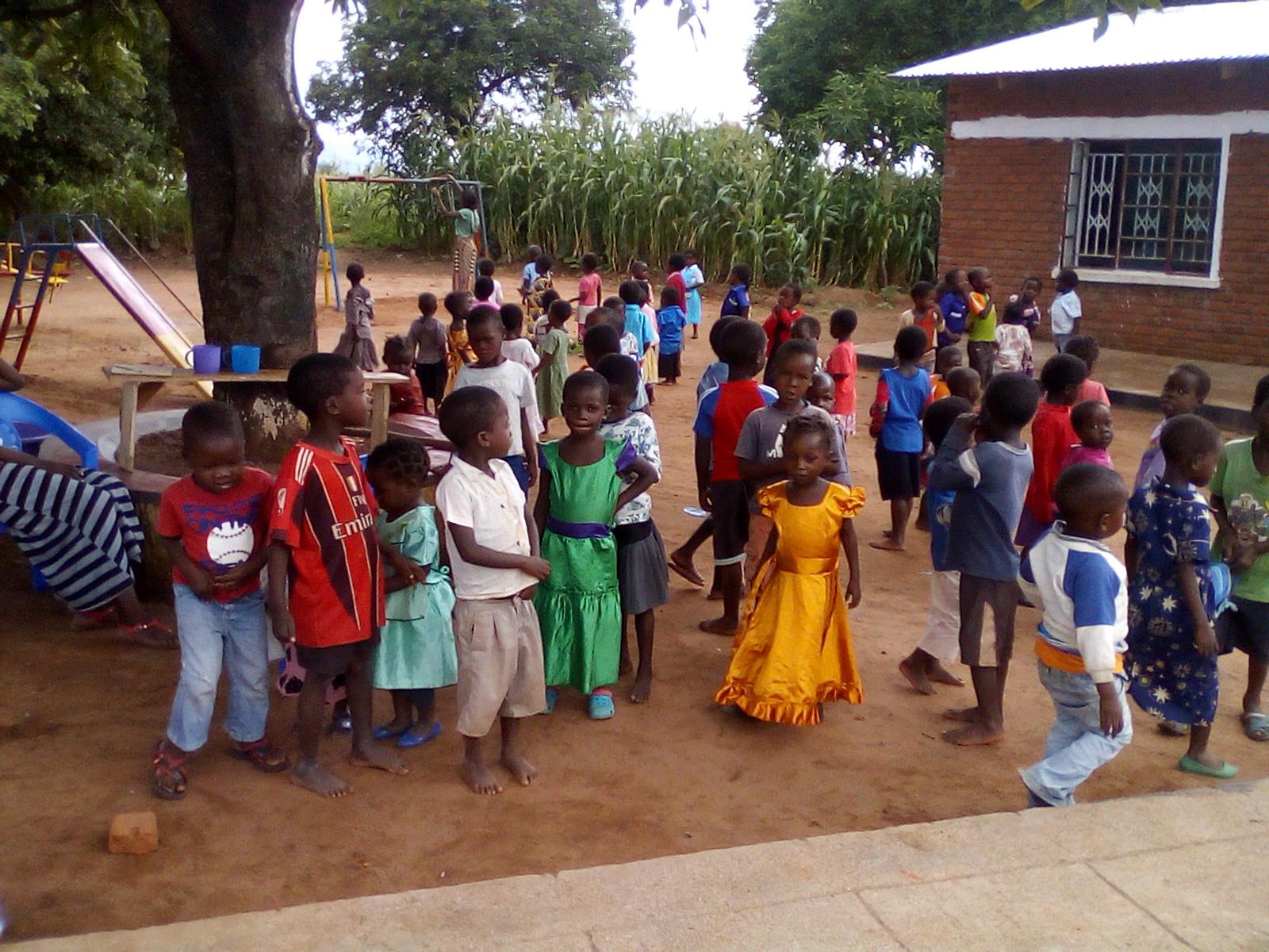 Blog Photo - Kamala-Jean -- Children in schoolyard