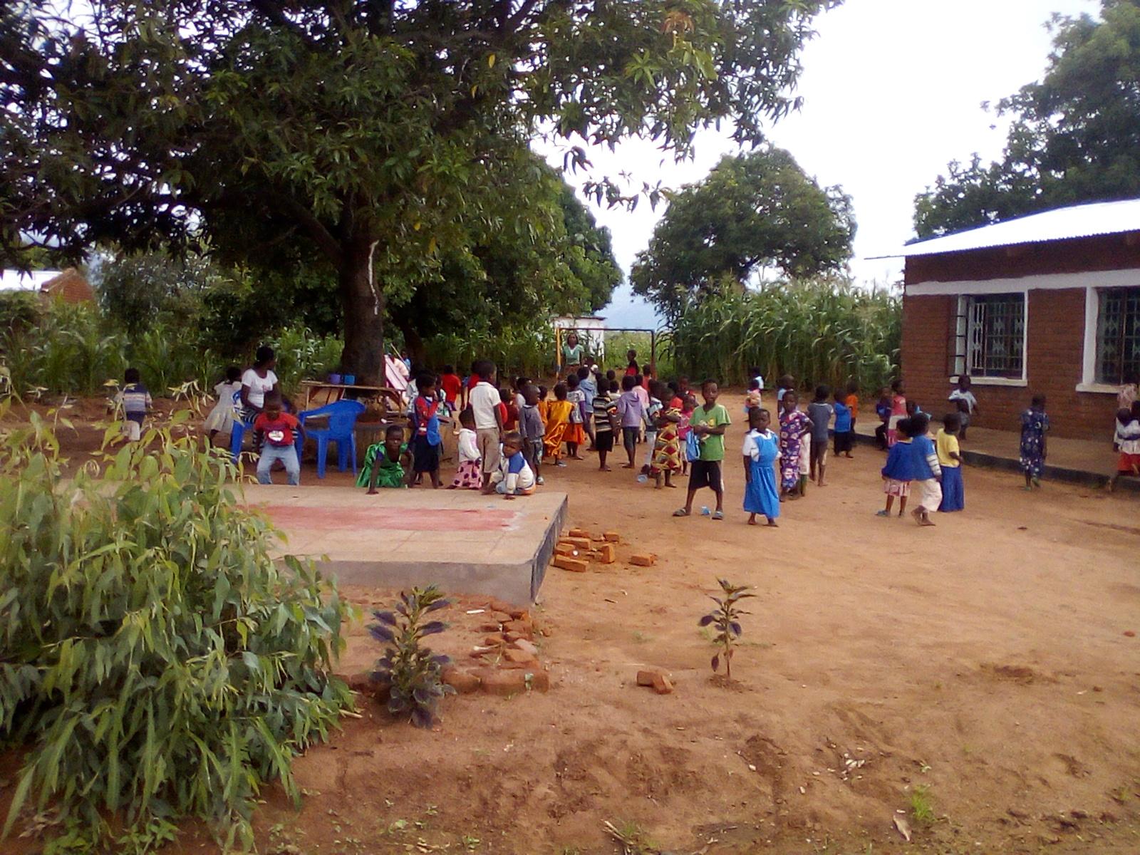 Blog Photo - Kamala-Jean -- Children in schoolyard2