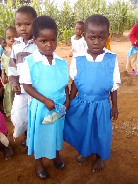 Blog Photo - Kamala-Jean -- Two girls in uniforms
