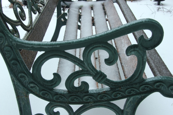 Blog Photo - Frozen Bench 2