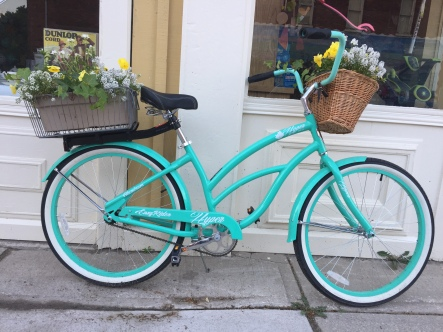 Blog Photo - Creemore bicycle with flowers