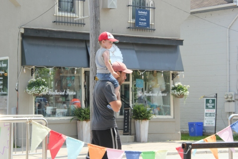 Blog Photo - Creemore father and son on street