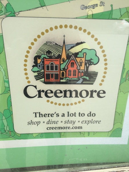 Blog Photo - Creemore sign things to do