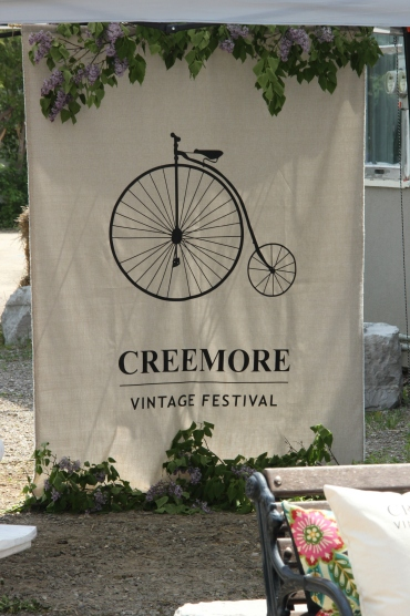 Blog Photo - Creemore Vintage Festival sign