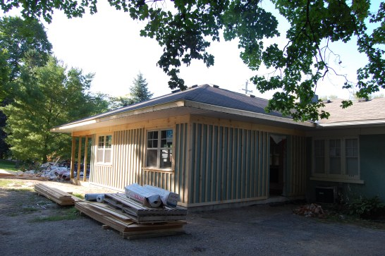 Blog Photo - Wayne and Carol house addition