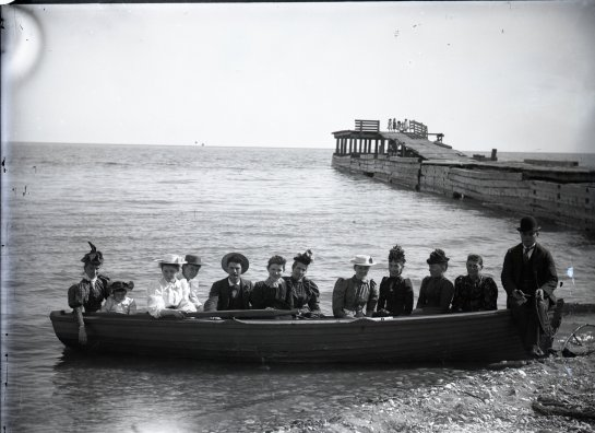 Blog Photo - Doors Open Clarington Port Granby boat load of people
