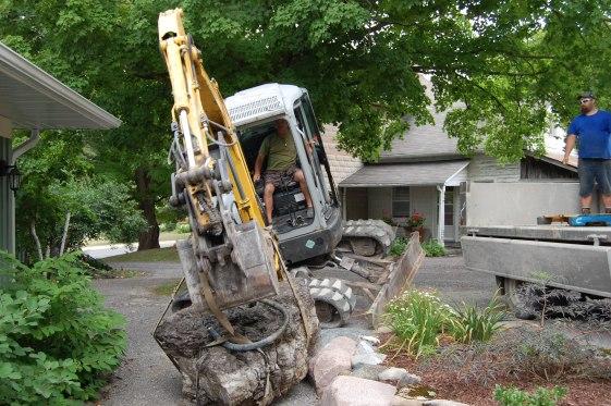Blog Photo - Wayne's Fountain Rock Arrives 2