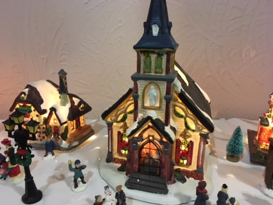Blog Photo - BOAA Christmas village church