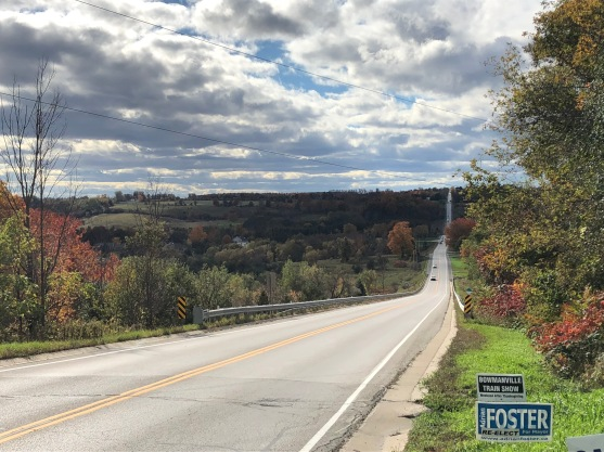 Blog Photo - Bowmanville Fall Drive - road and countryside
