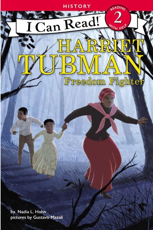 Blog Photo - Nadia Hohn Harriet Tubman book cover
