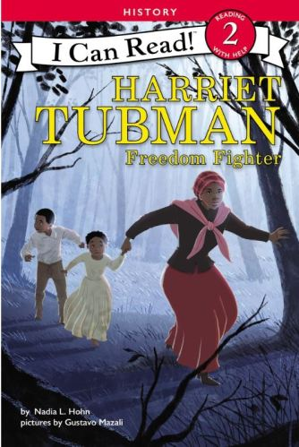 Blog Photo - Nadia Hohn Harriet Tubman book cover