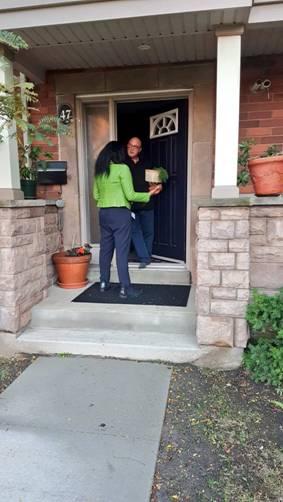 Blog Photo - Tiffany knocks at door