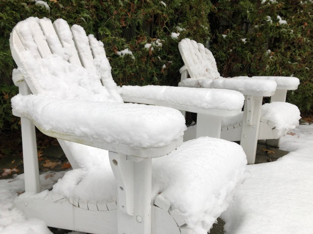 Blog Photo - Snow on Chairs