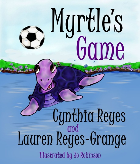 Blog Photo - Myrtle's Game Book Cover