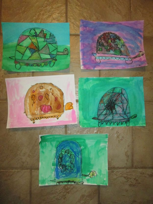Blog Photo - Turtle pictures by children 2 - Karen P