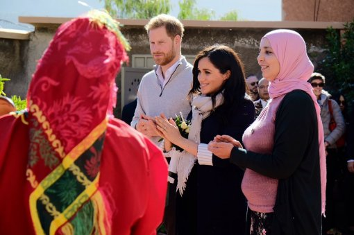 Blog Photo - MM and PH in Morocco - Credit Kensington Palace
