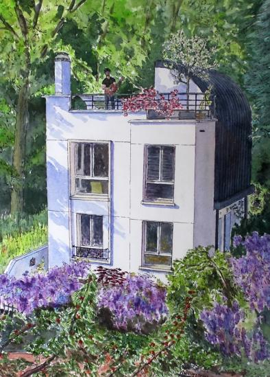 Blog Photo - Nancy - Paris suburbs drawing