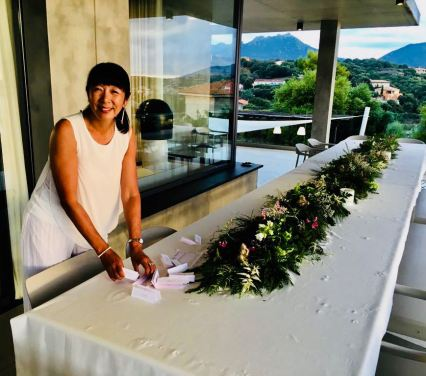 Blog Photo - NANCY TABLE SETTING CORSICA