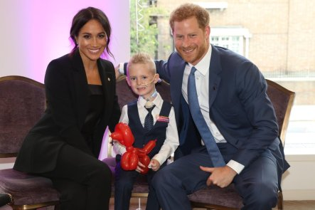 Blog Photo - Baby shower - Meghan Harry and Child