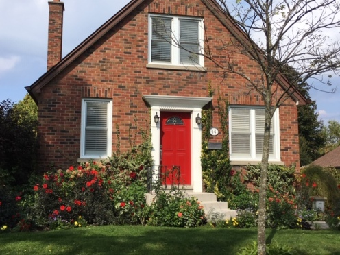 Blog Photo - Bowmanville Small House with Red Door