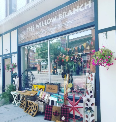 Blog Photo - The Willow Branch front of store