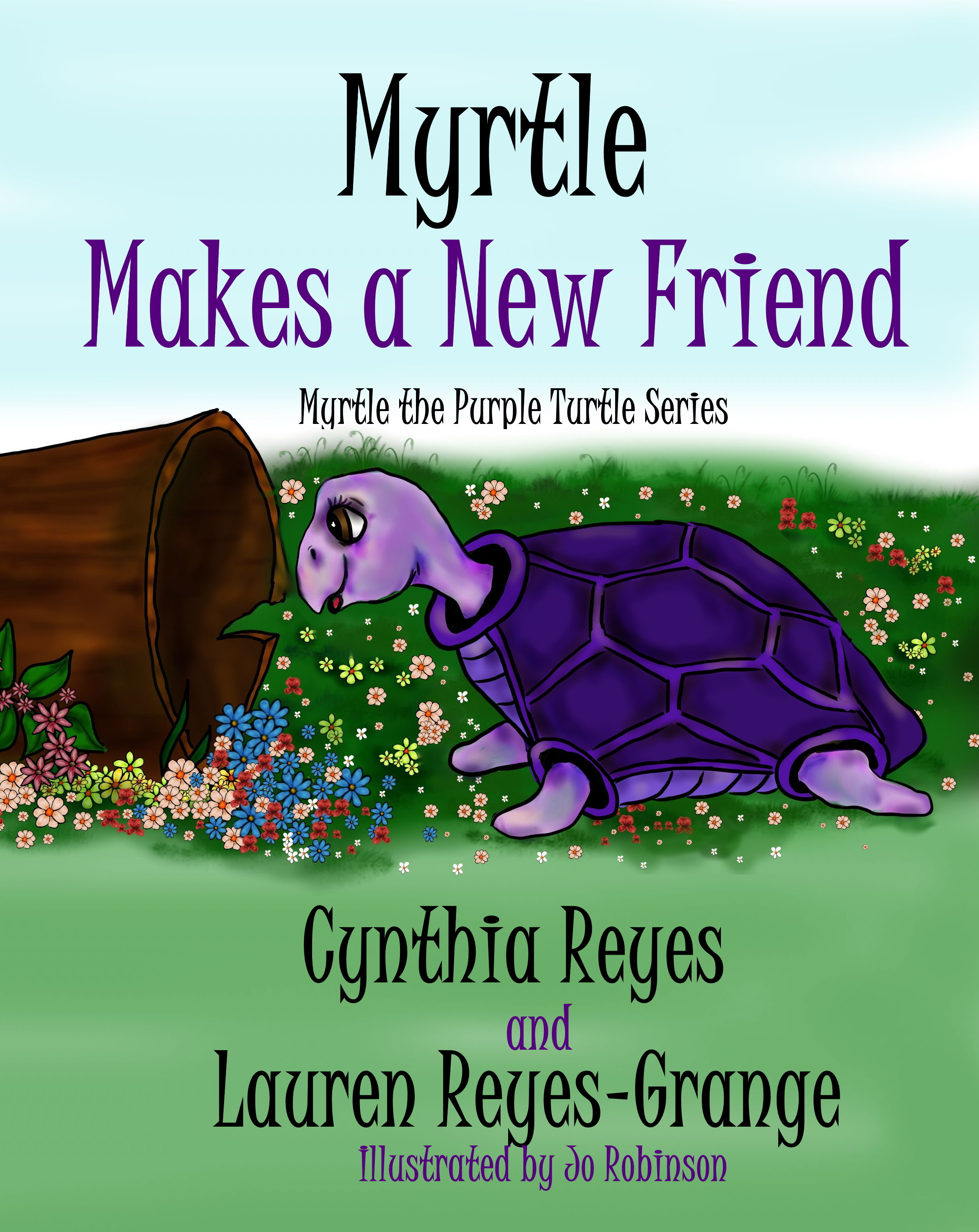 Myrtle Makes a New Friend - Cover Front 3 Sept 2019