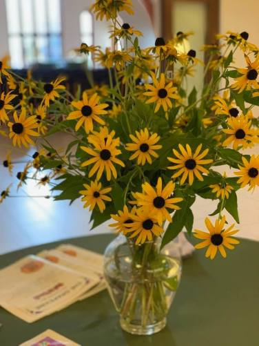 Blog Photo - Book Blessing and Launch 2019 - Rudbeckia