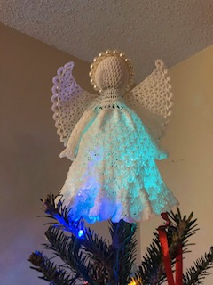 Blog Photo - Darcy Crocheted Angel